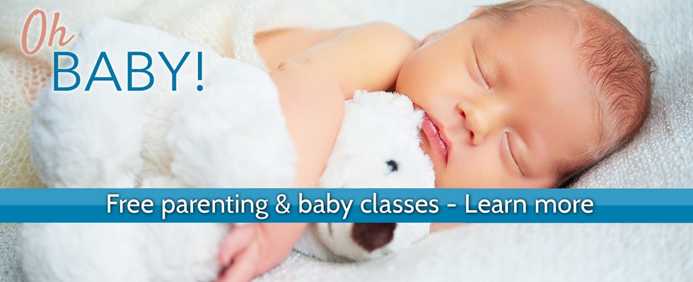 FREE parenting & baby classes - Learn more