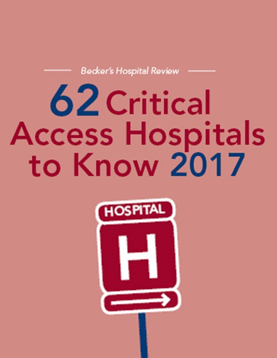 62 Critical Access Hospitals to Know