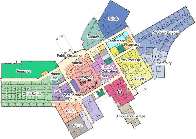Interior Building Map