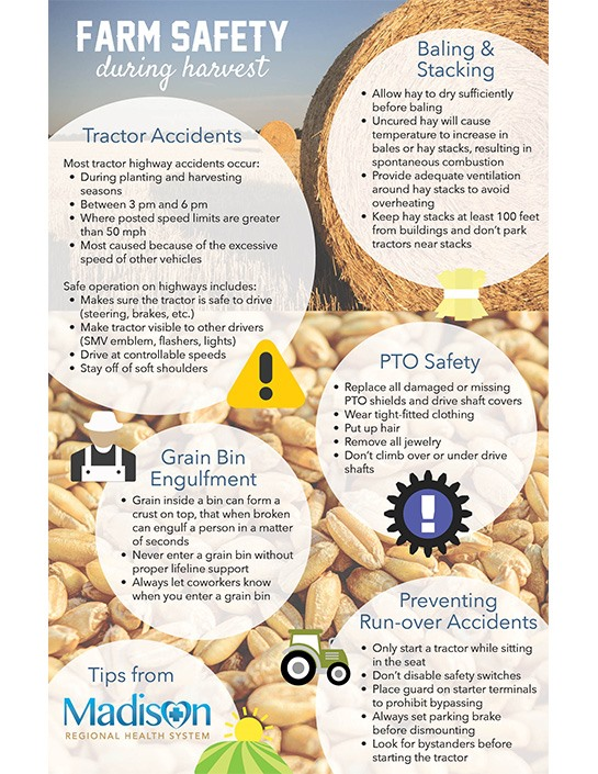 Farm Saftey Infographic